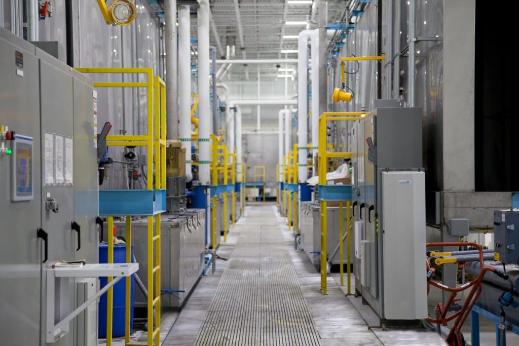 Commercial Powder Coating Systems