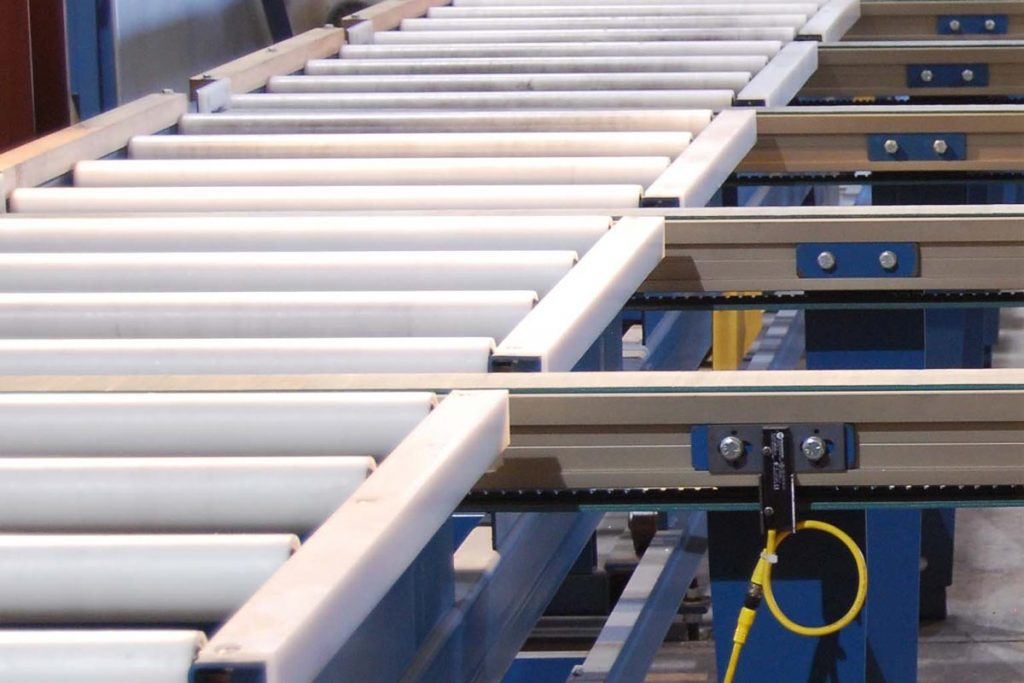 Saw Feed Conveyor Extrusion